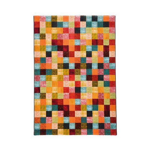 ウィルトン PANDRA ブロック 約140×200cm(代引不可)【送料無料】