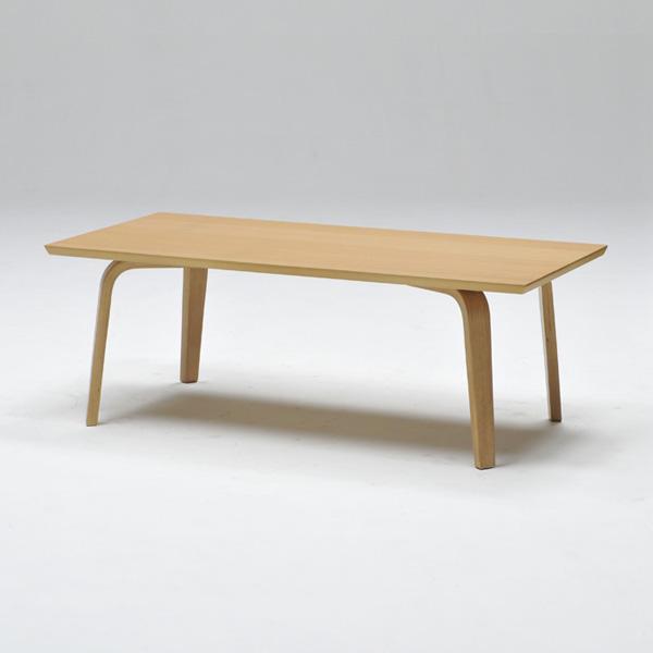 センターテーブル リビングテーブル 長方形 幅110cm 天然木 オーク ウォールナット シンプル ローテーブル おしゃれ 北欧(代引不可)【送料無料】