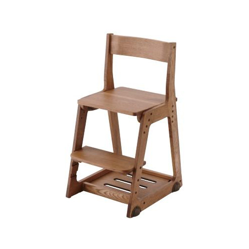 イトーキ 学習椅子 学習チェア 木製チェア キッズチェア 木製チェア 板座 KM81-9VB(代引不可)【送料無料】