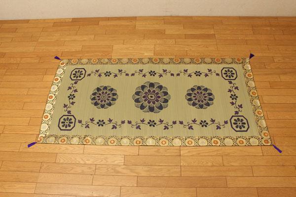 純国産 袋織 い草御前(仏前)ござ 『ガンジー』 約88×180cm(代引不可)【送料無料】