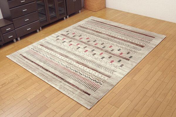 トルコ製 ウィルトン織りり カーペット マリア RUG グリーン 約160×230cm(代引不可)【送料無料】
