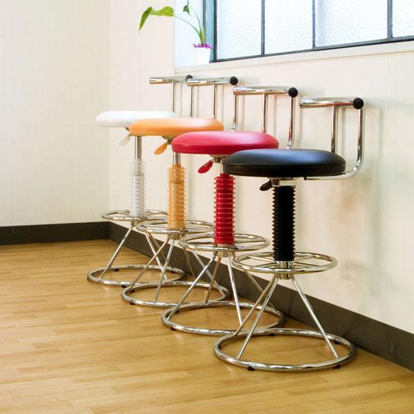 カウンターチェアー LP-9102-ホワイト(代引き不可) チェア チェアー 椅子 いす イス【送料無料】