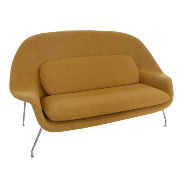 エーロ サーリネンウームソファ Eero Saarinen Womb Sofa Reprography And Consultant Duct Collect On Delivery Impossibility