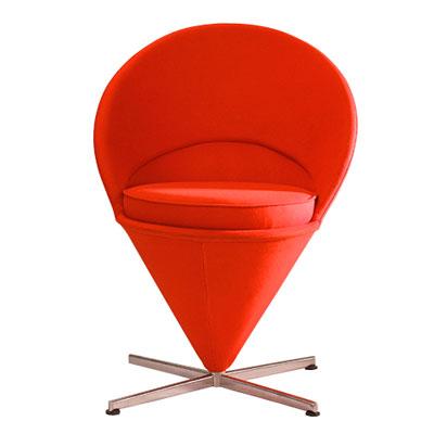 ラウンジチェア ソファ 1人掛け コーンチェア 通常色 ラウンジチェア ヴェルナー・パントン(代引不可)【送料無料】