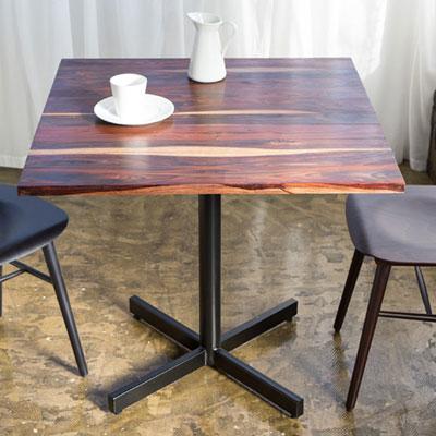 ソリッド スクエアテーブル Solid Square Tableローズウッド 無垢材 TIMELESS CRAFT(代引不可)【送料無料】