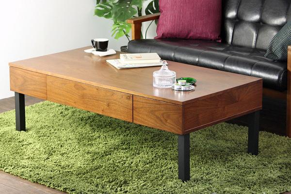 センターテーブル ベルーラ verla iw-230 リビングテーブル ローテーブル 北欧 おしゃれ ウォールナット ブラウン 収納付き 120(代引不可)【送料無料】