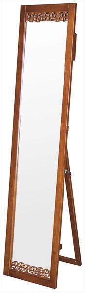 全日本送料無料 ミラー 飛散防止加工 スタンドミラー シルエットミラー OW-510 鏡 家具 姿見 飛散防止加工 木製フレーム 家具 ミラー 鏡 ミラー 塩川 インテリア(代引不可)【送料無料】, ナカク:964ef800 --- pokemongo-mtm.xyz