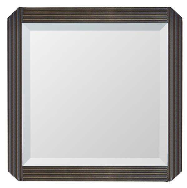 ウォールミラー マルシア 4545 家具 鏡 ミラー 塩川 インテリア(代引不可)【送料無料】