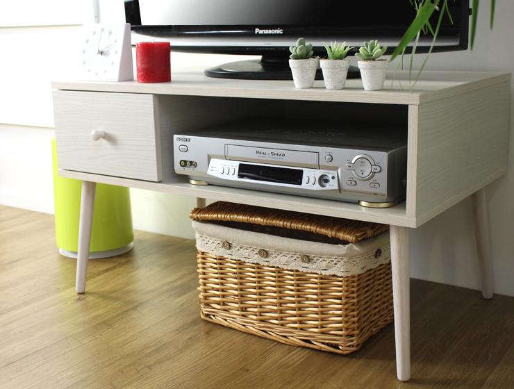 北欧デザインコンパクトテレビボード【SALUTE サンルーテ】テレビ台 IW-51【送料無料】
