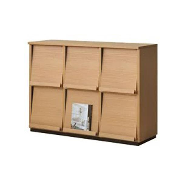 ディスプレイラック キャビネット シェルフ 3列×2段 Wal-fit(ウォルフィット) WF-8012DP【送料無料】