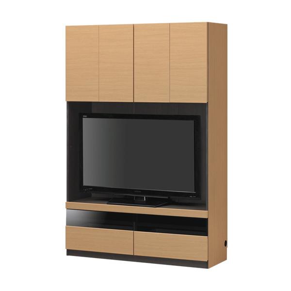 ポルターレ(リビング) 壁面収納 幅120cm テレビ台 32インチ 42インチ 収納 収納家具 リビング収納 木製 テレビボード TVボード(代引不可)【送料無料】