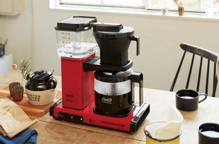 モカマスター MOCCAMASTER コーヒーメーカー MM741AO 正規販売店 珈琲 10杯 大容量 ドリップコーヒーメーカー(代引不可)【送料無料】
