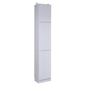 本棚 ラック シェルフ 1cmピッチ 大量収納 MEMORIA 棚板が1cmピッチで可動する 深型扉付幅41.5 上置きセット FRM-0106DOORSET(代引不可)【送料無料】
