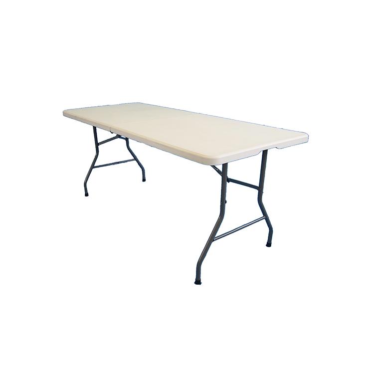 屋外用作業折りたたみテーブル 180cm アウトドア ガーデニング 屋外作業 折り畳み式 持ち運び便利(代引不可)