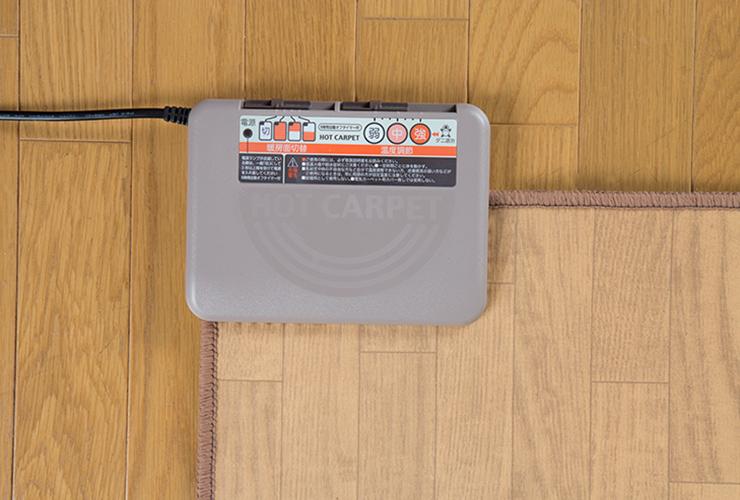 木目フローリングタイプ カーペット3畳用 フローリング なじむ 一体化(代引不可)【smtb-f】