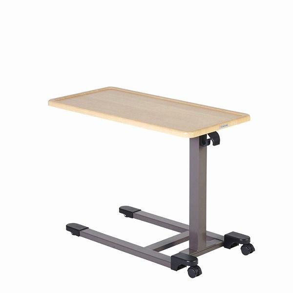 昇降テーブル ガス圧式 KXT-108NS ナチュラル色 テーブル 昇降式 シンプル コイズミファニテック【送料無料】