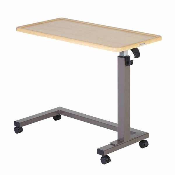 昇降テーブル ガス圧式 KXT-109NS ナチュラル色 テーブル 昇降式 シンプル コイズミファニテック【送料無料】