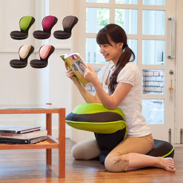 座椅子 リクライニング 背筋がGUUUN 美姿勢座椅子 0070-2058【送料無料】
