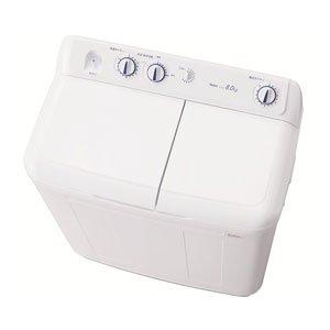 ハイアール 8.0kg 2槽式洗濯機 ホワイトHaier JW-W80E-W(代引不可)【送料無料】