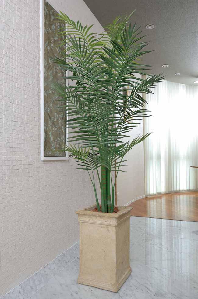 アートグリーン 人工観葉植物 光触媒 光の楽園 トロピカルアレカパーム2.0(代引き不可)【送料無料】
