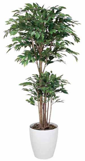 アートグリーン 人工観葉植物 光触媒 光の楽園 トロピカルベンジャミン1.8(代引き不可)【送料無料】
