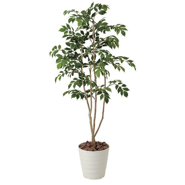 アートフラワー 人工観葉植物 光触媒 光の楽園 マウンテンアッシュ1.3 (代引き不可)【送料無料】