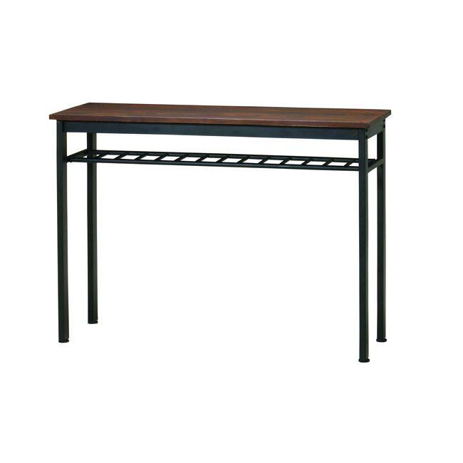 エヴァンス ハイテーブル EVS-HT120 ダイニングチェア チェア チェアー 椅子 イス 天然木 木製 スチール リビング(代引不可)【送料無料】