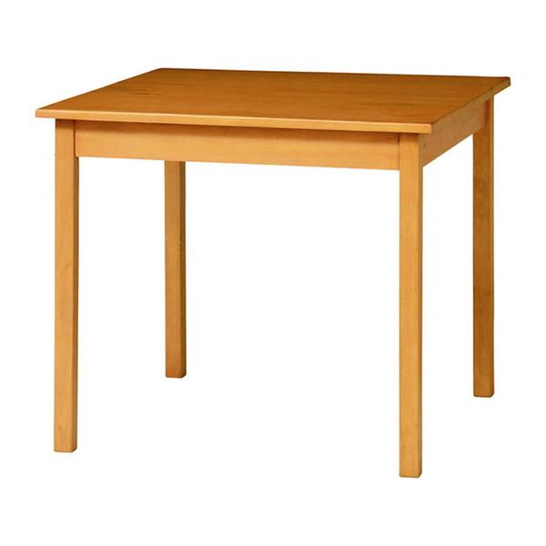 ダイニングテーブル 幅80cm 奥行80cm 高さ70cm 食卓テーブル 天然木 ダイニング テーブル アンティーク調 おしゃれ 北欧(代引不可)【送料無料】
