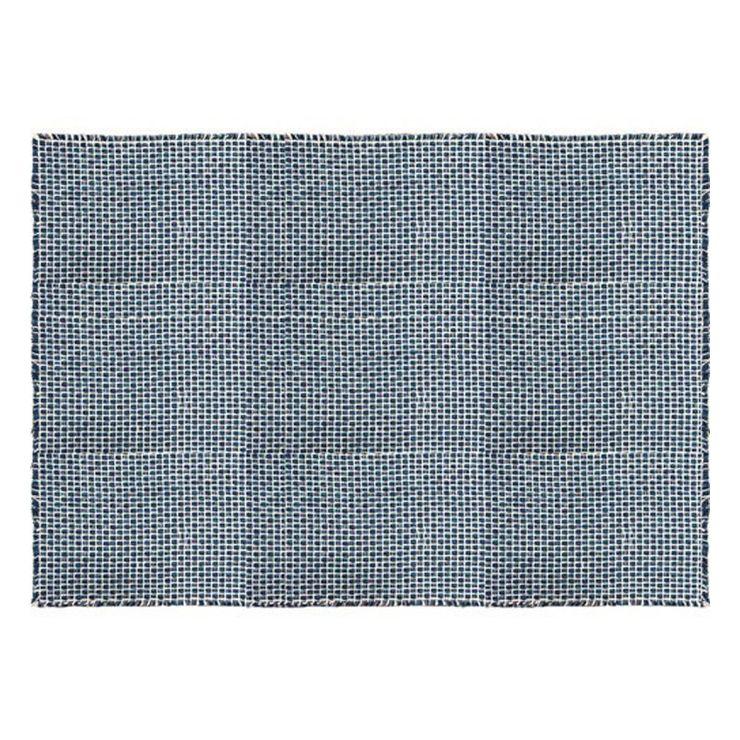 CALM BLEND インテリアマット 約140×200cm インディゴ インテリアマット【送料無料】