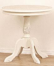 サイドテーブル ホワイト 木製 コモ テーブル ホワイト(代引き不可)【送料無料】