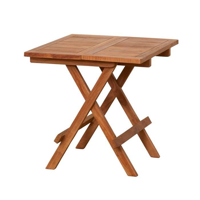 【送料無料】クロシオ チークテーブル 折りたたみ式 クロシオ チークテーブル 折りたたみ式(代引不可)【送料無料】