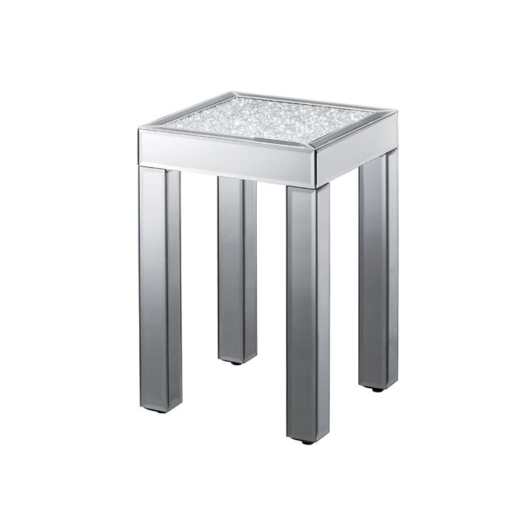 テーブル 鏡 ミラー クロシオ ダイヤテーブル ロー ミラー(代引不可)【送料無料】