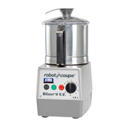ロボ・クープ BLIXER-4V.V.B ブリクサー ミキサー 無段階変速 容器容量4.5L コンパクト 介護食(代引不可)【送料無料】