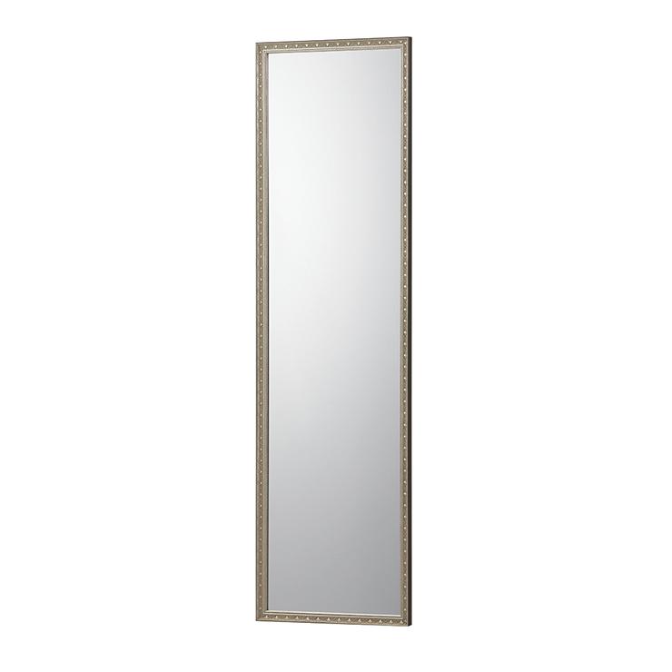 【割れないミラー】 リフェクスミラー クアードロ(額縁)フィルムミラー 幅44.8×高さ154.8×厚さ3.4cm 鏡 姿見鏡 全身鏡(代引不可)【送料無料】【S1】