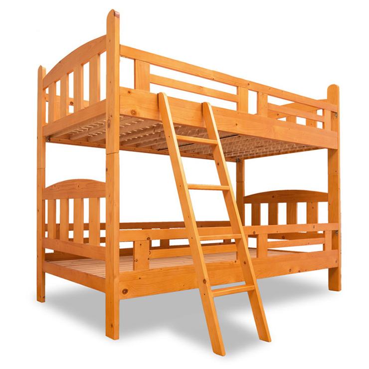 2段ベット ロフトベッド すのこ すのこベッド 木製 コンパクト 北欧 子供部屋 子供用 寮 学生寮 社員寮(代引不可)【送料無料】