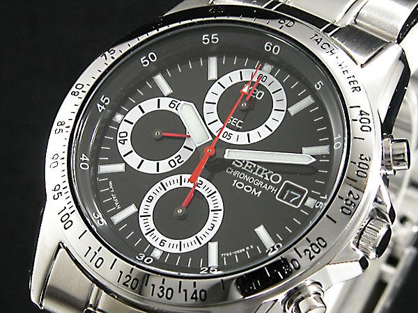 セイコー SEIKO 腕時計 時計 クロノグラフ メンズ SND371【送料無料】