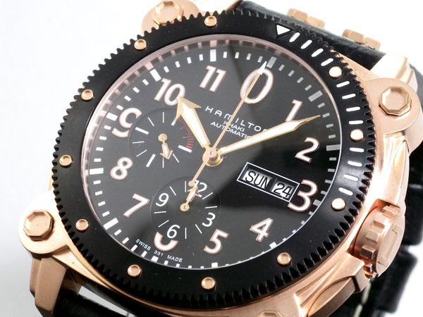 ハミルトン HAMILTON 腕時計 時計 カーキ BeLOWゼロ オートクロノ H78646733H2【送料無料】