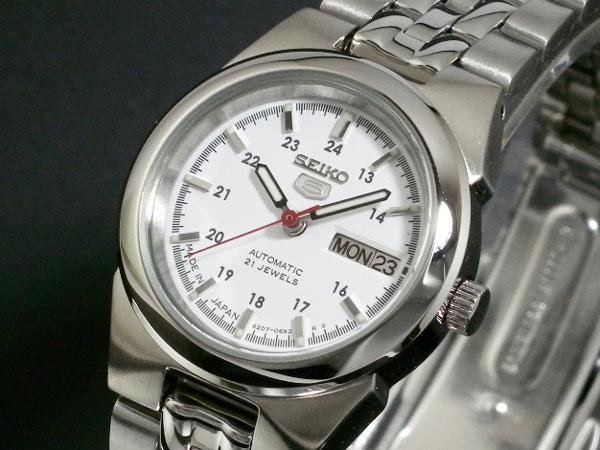 セイコー 5 SEIKO ファイブ 腕時計 時計 自動巻き レディース SYMG61J1H2【送料無料】