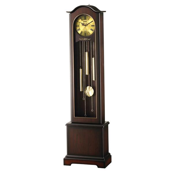 リズム RHYTHM 電波置き時計 ホールクロック HiARM-418R 4RN418RH06 ブラウン【送料無料】