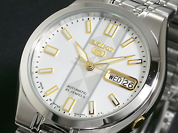 セイコー5 SEIKO ファイブ 腕時計 時計 自動巻き メンズ SNKG33J1H2