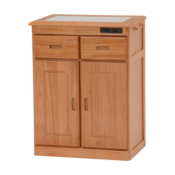キッチンカウンター MUD-6122SNA 4934257218924 ナチュラル 代引き不可