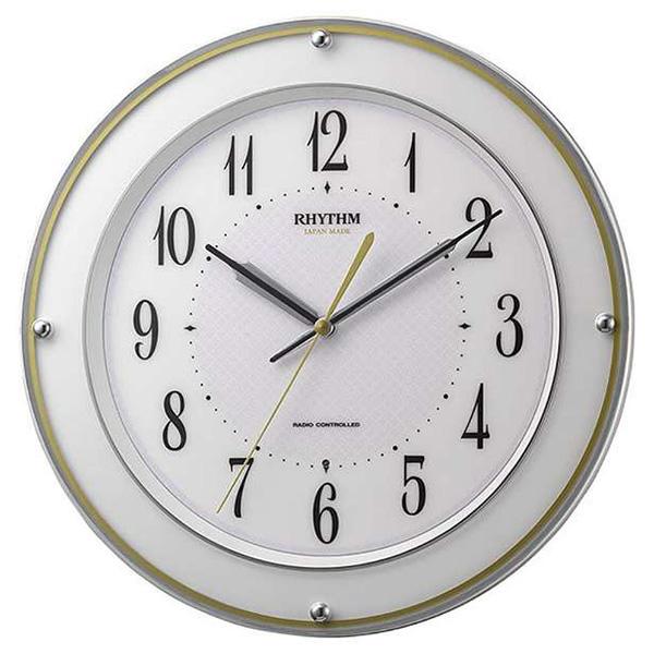 超歓迎 リズム リズム RHYTHM ミレディサヤカ 掛け時計 8MY510SR03 ホワイト 掛け時計 ホワイト, コサザチョウ:62f48612 --- polikem.com.co