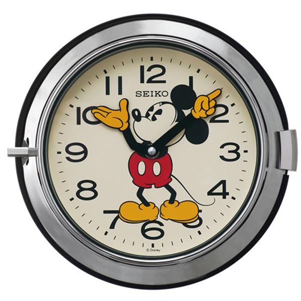 セイコー SEIKO 大人ディズニー 掛け時計 FS504S ホワイト
