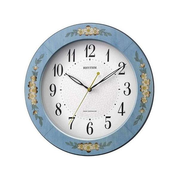 リズム RHYTHM アマービレM521 ユニセックス 掛け時計 8MY521SR04 ホワイト