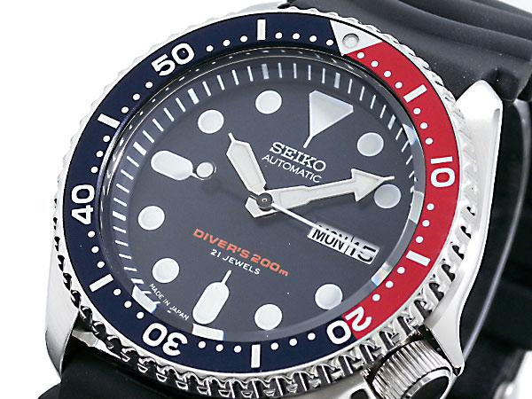 セイコー SEIKO ダイバー 腕時計 ネイビーボーイ SKX009J1 日本製【ラッピング無料】【送料無料】