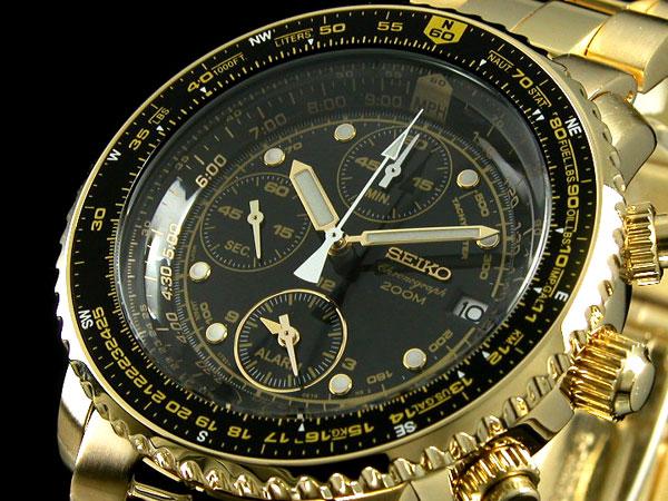 セイコー SEIKO 腕時計 クロノグラフ アラーム SNA414P1【送料無料】