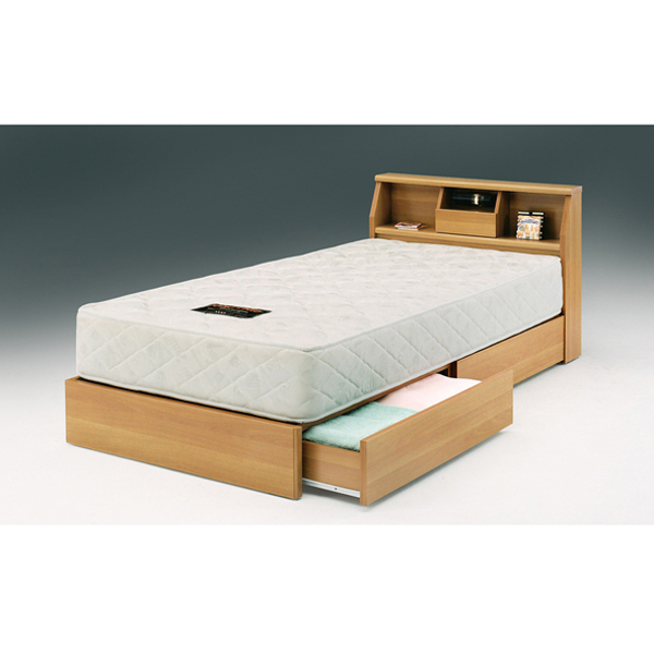 関家具 インテリア シングルベッド Sベッド コロナ NA 037807 【代引き不可】