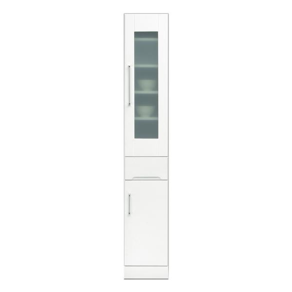 関家具 インテリア キッチン収納 25スリムボード クリスタルIII 121004 【代引き不可】