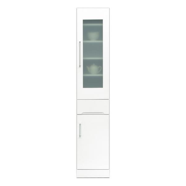 関家具 インテリア キッチン収納 30スリムボード クリスタルIII 121005 【代引き不可】