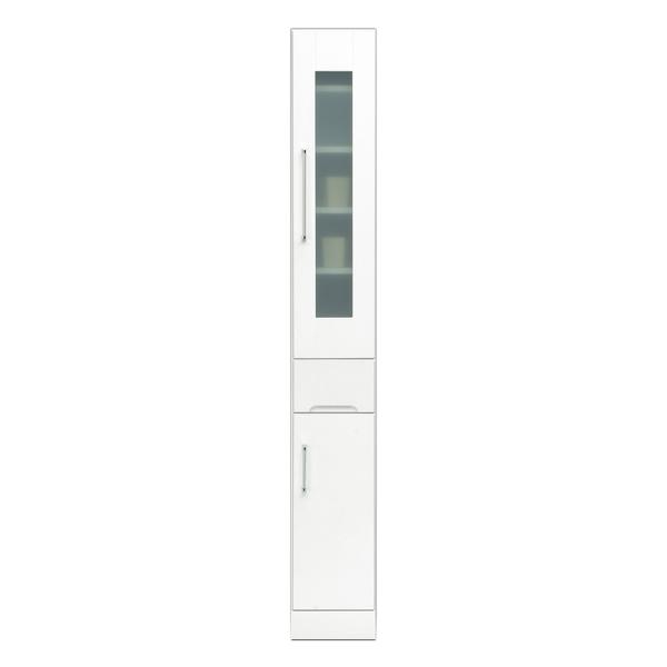 関家具 インテリア キッチン収納 40スリムボード クリスタルIII 121007 【代引き不可】【送料無料】